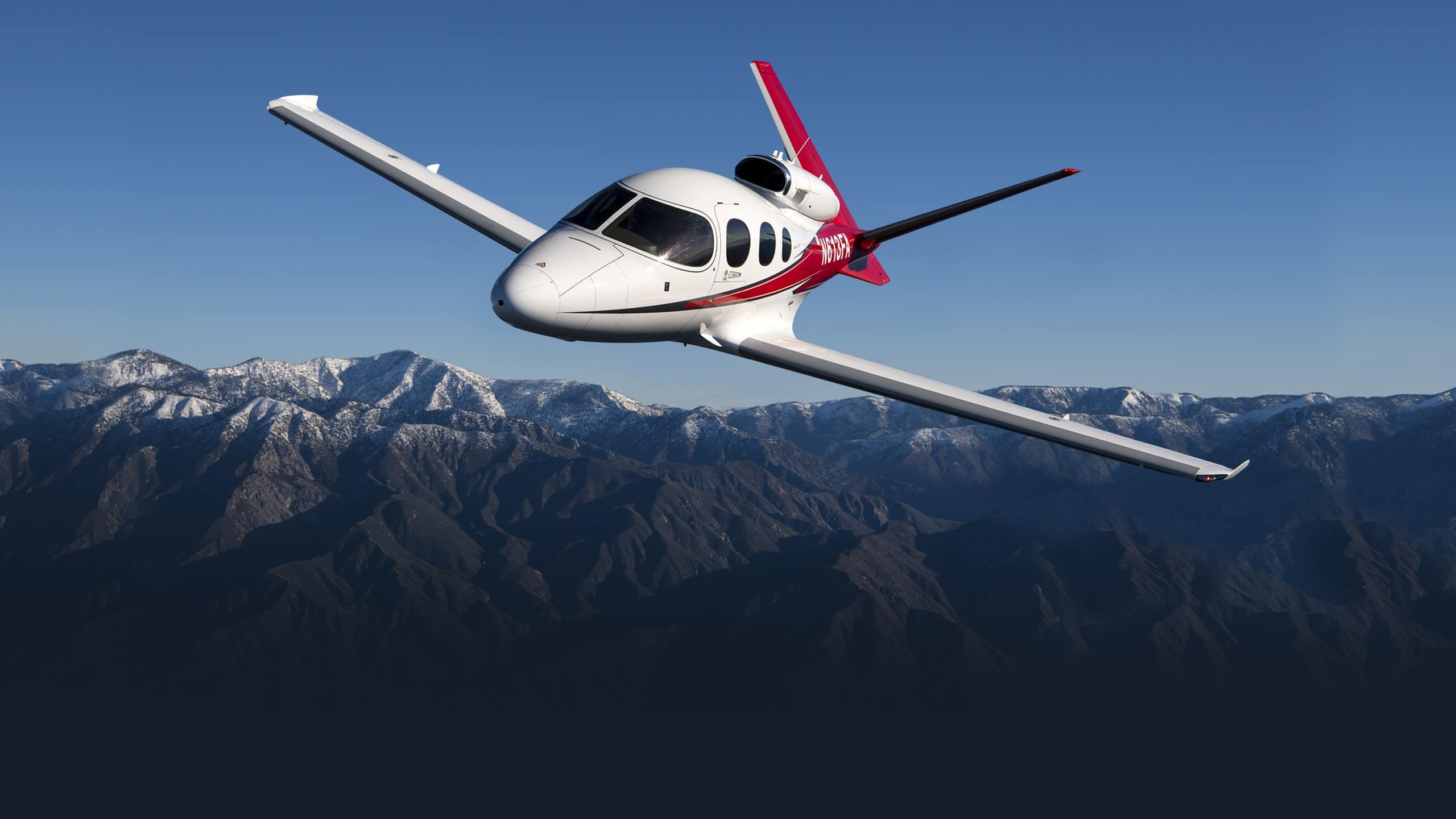 Vision Jet Specifications Summary Background