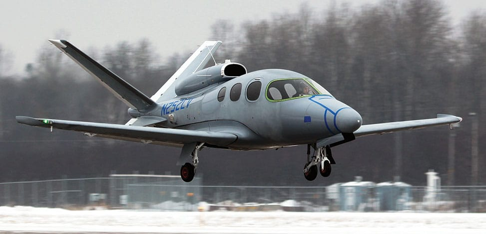 The Vision Jet Takes Flight to Complete Certification
