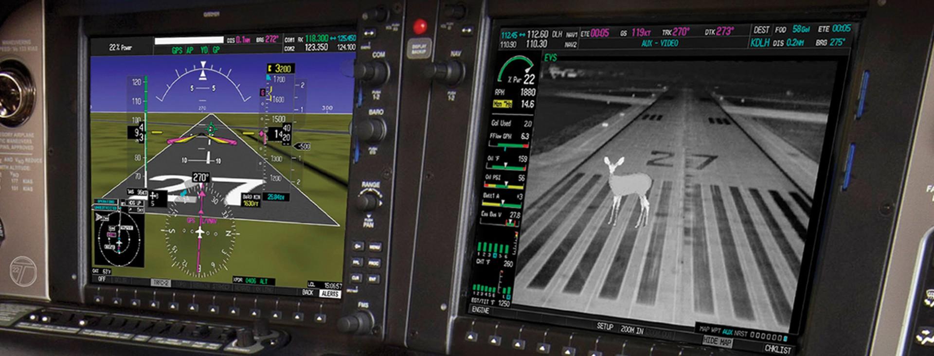 Enhanced Vision System Cirrus Aircraft