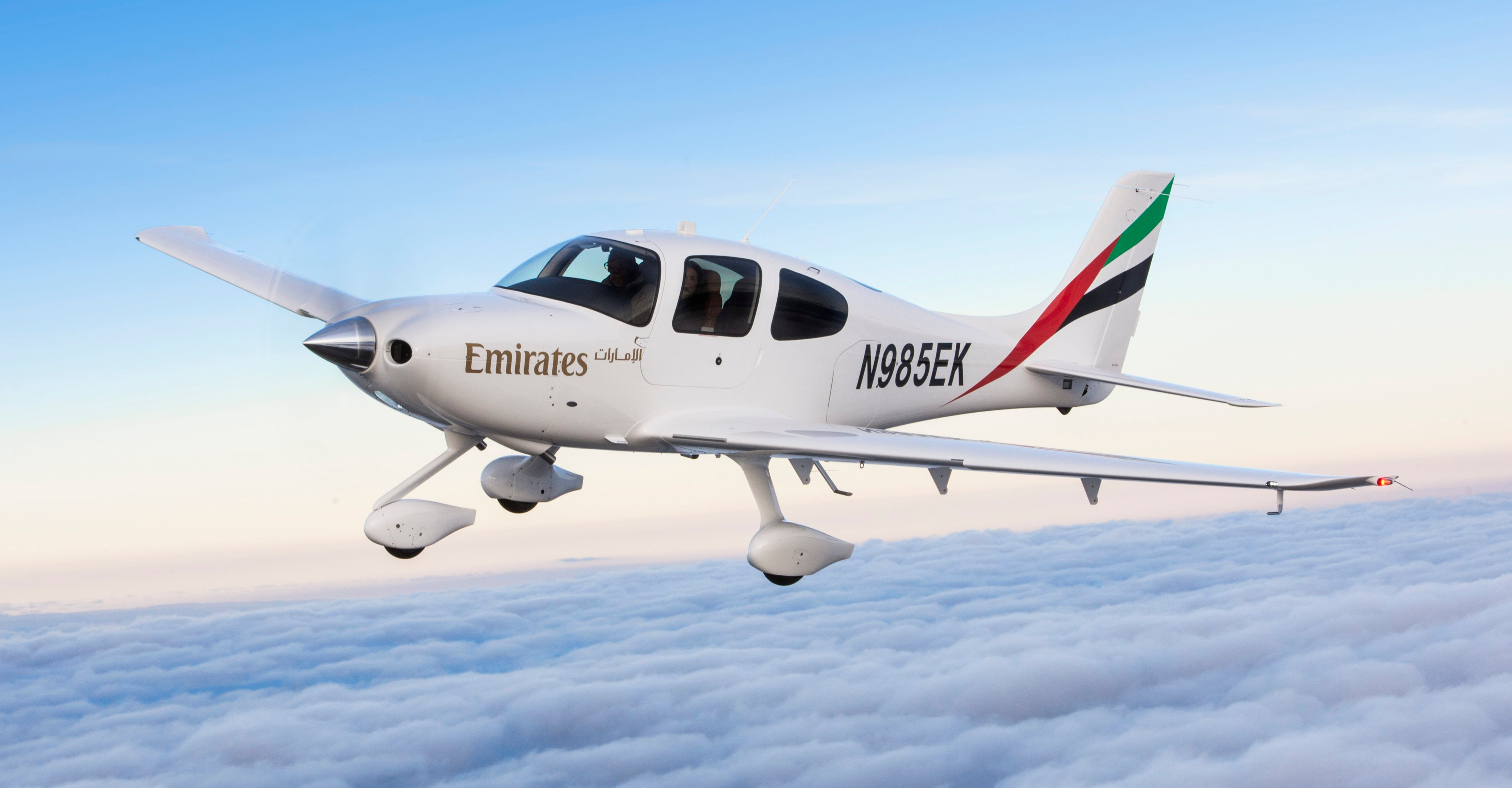Emirates Airline Selects Cirrus Aircraft SR22 for Flight Training