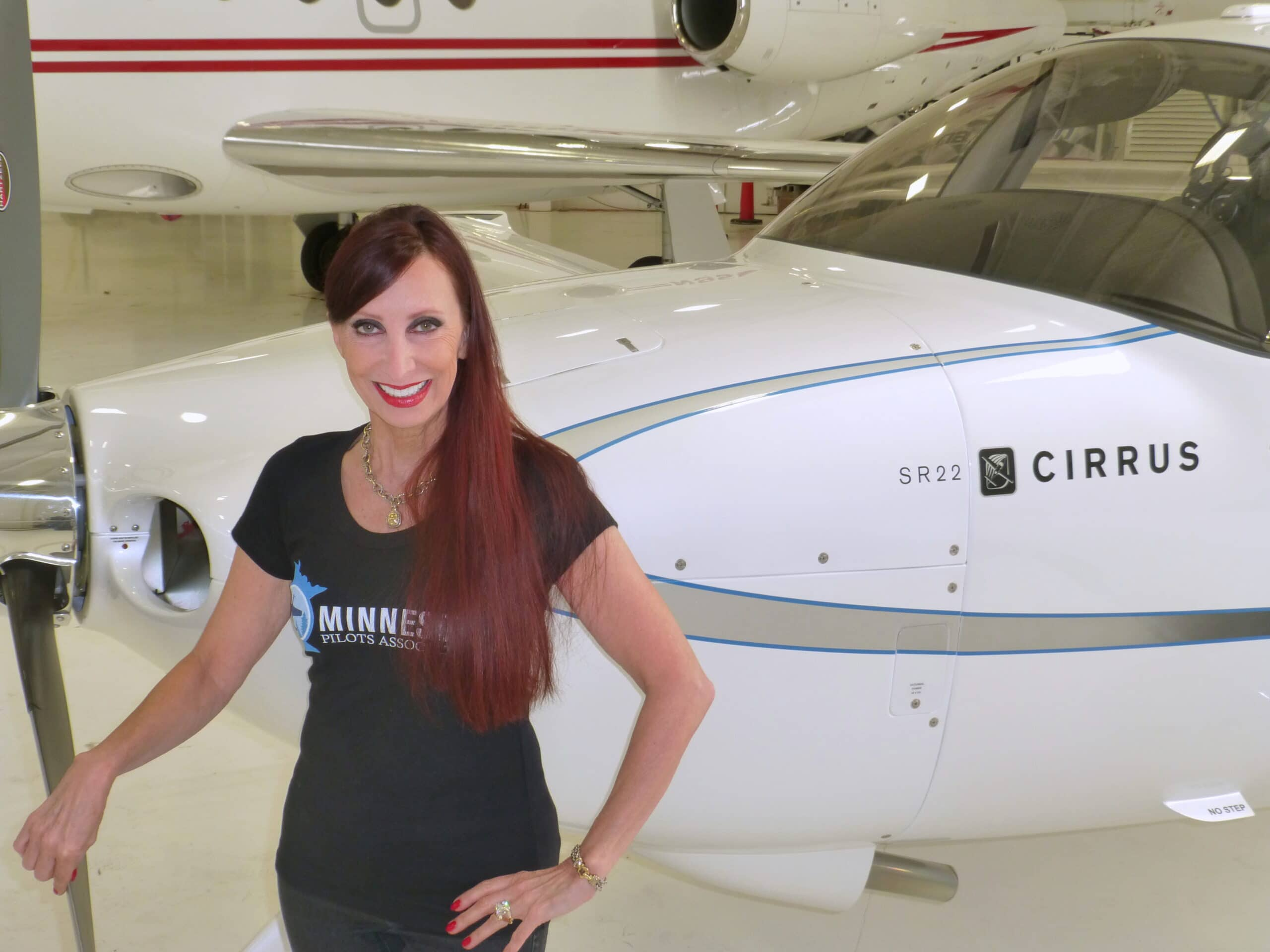 Tracy Lovness' Cirrus is an Air Race Flyer