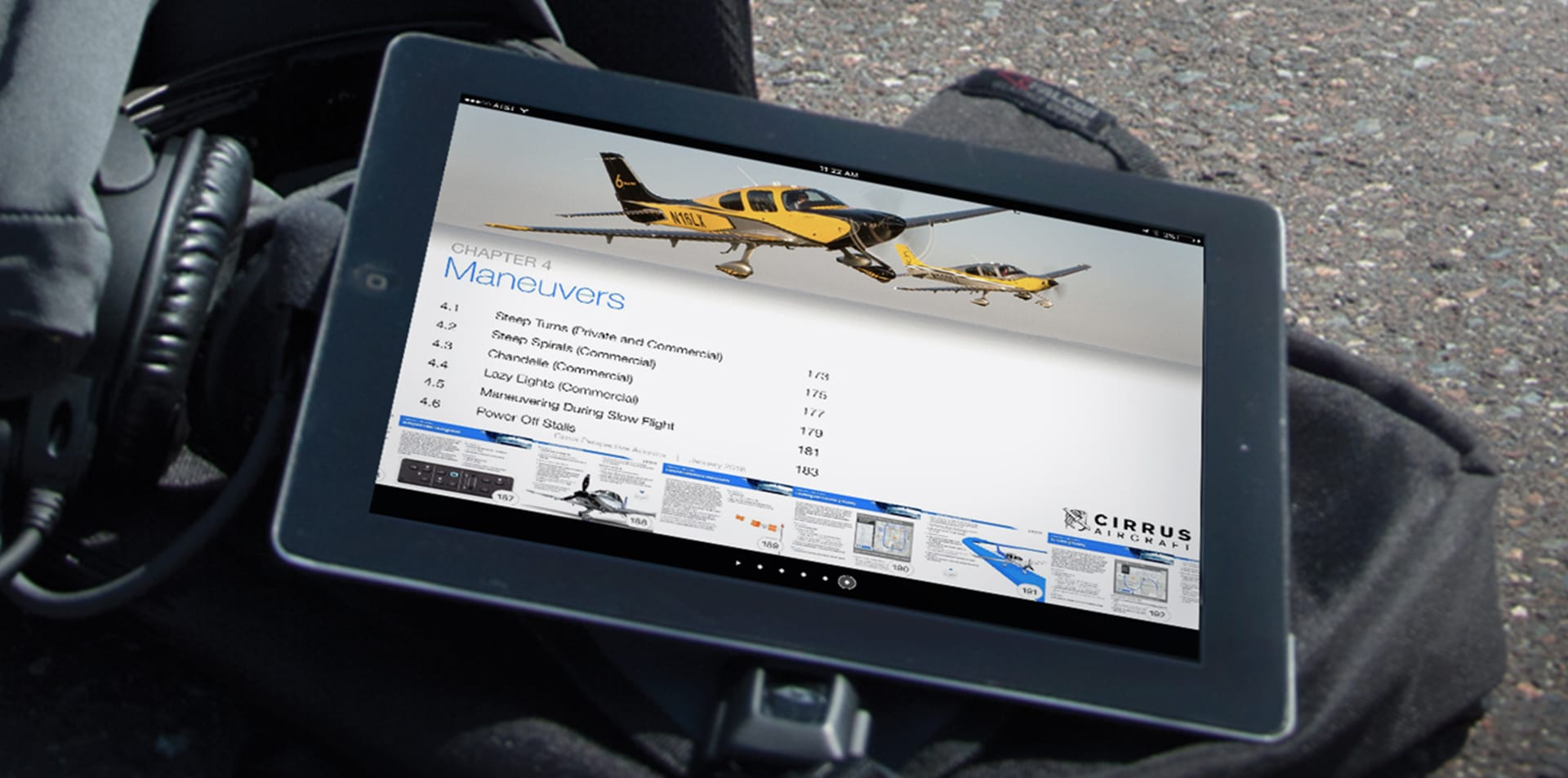 Cirrus Aircraft Releases First Interactive Flight Operations Manual