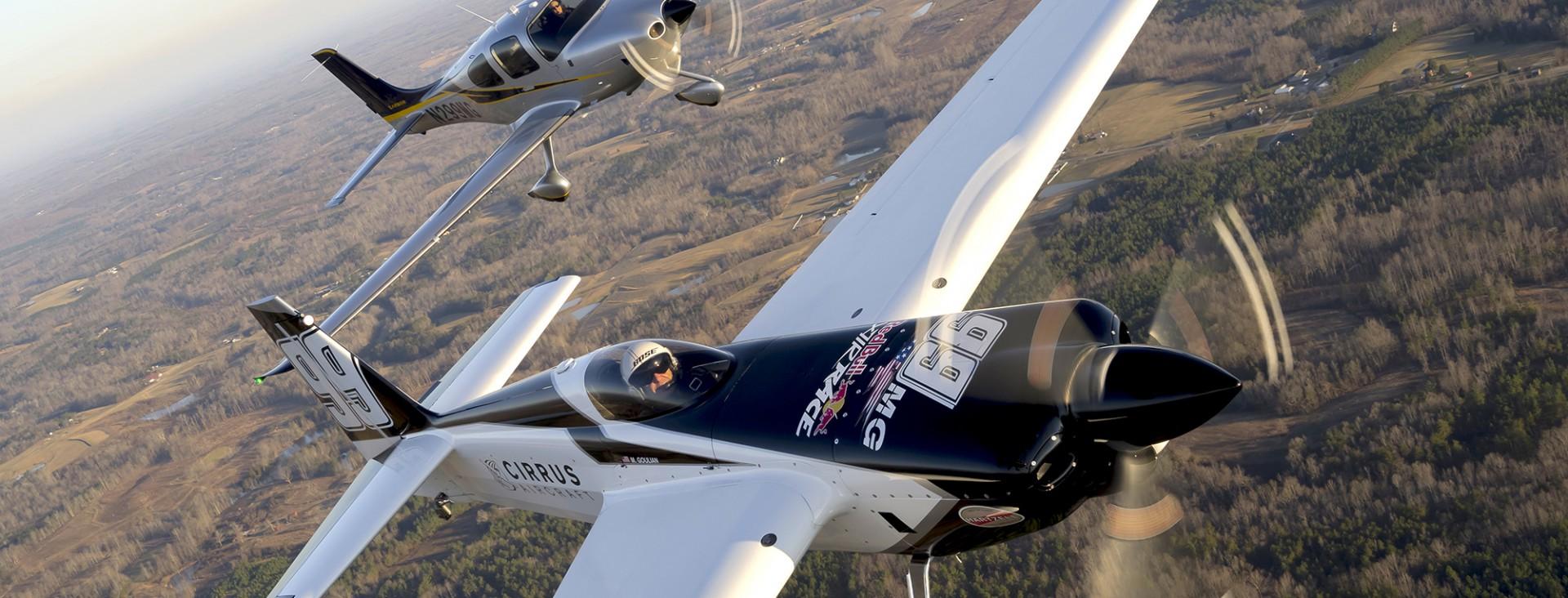 cirrus aircraft bull air race