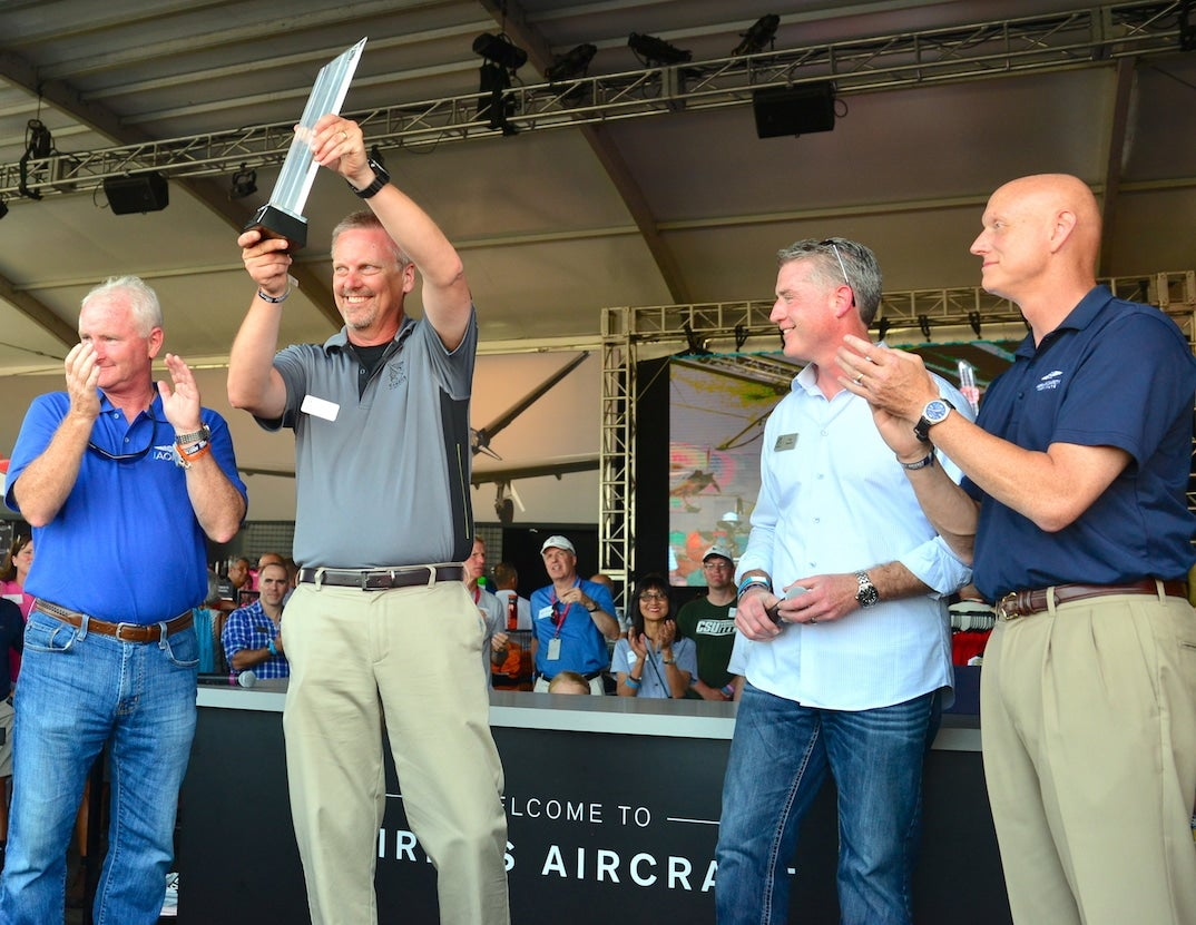 Cirrus Aircraft Awarded Joseph T. Nall Safety Award