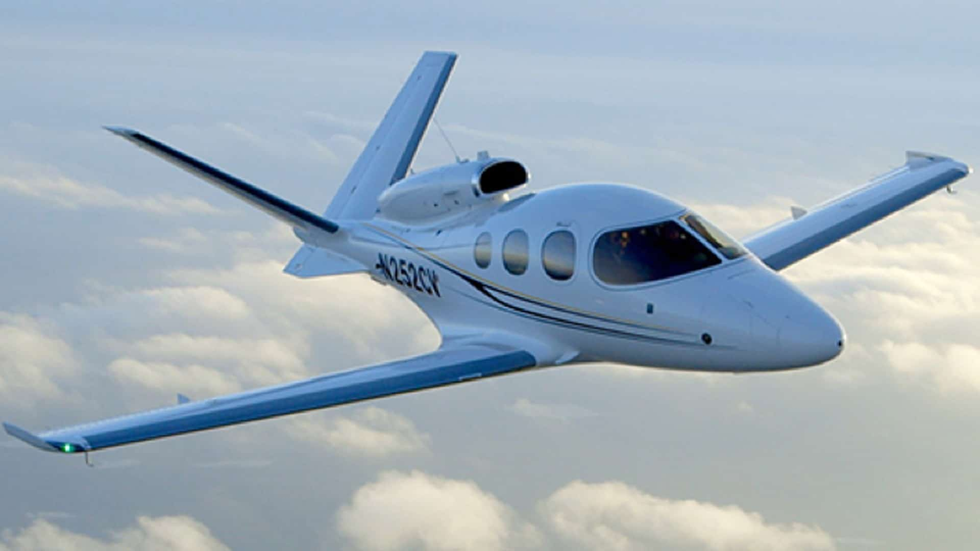 The Vision Jet Achieves FAA Certification