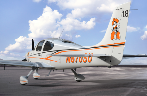 Oklahoma State University Adds Cirrus Aircraft SR20 to