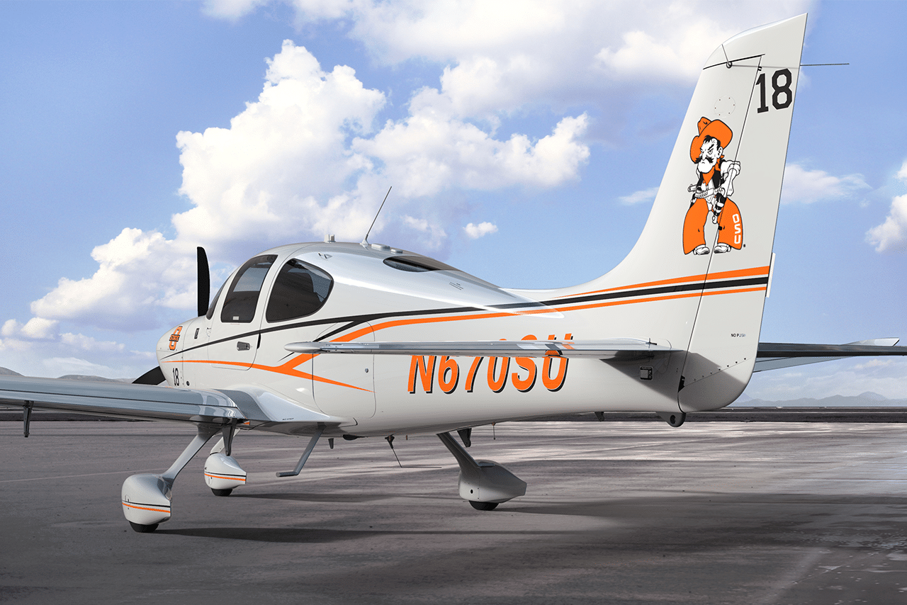 Oklahoma State University Adds Cirrus Aircraft SR20 to Fleet