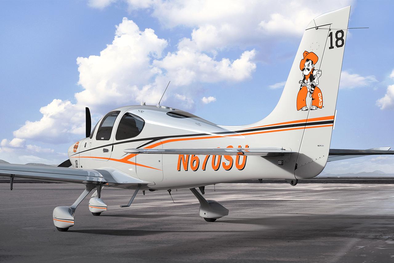 Oklahoma State University Adds Cirrus Aircraft SR20 to Fleet