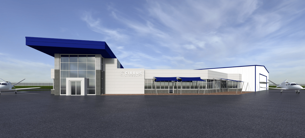Cirrus Aircraft Announces New Facility in the Dallas Metroplex
