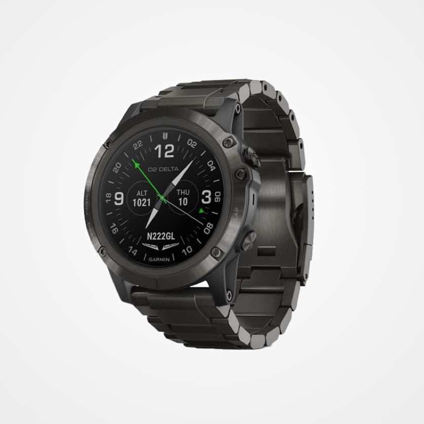 Garmin D2 Delta GPS Aviator Watch
