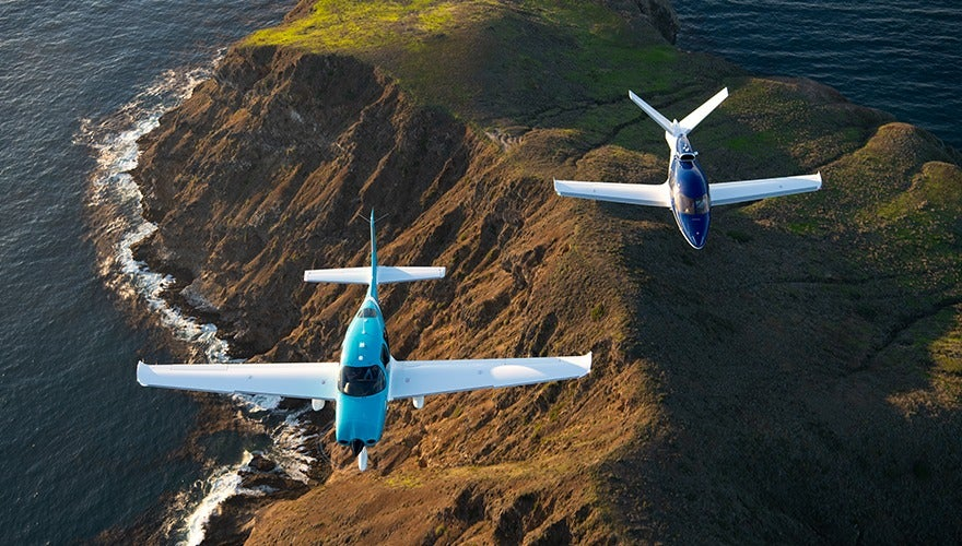 Cirrus Aircraft Delivers Record Year Fueled by Vision Jet Growth