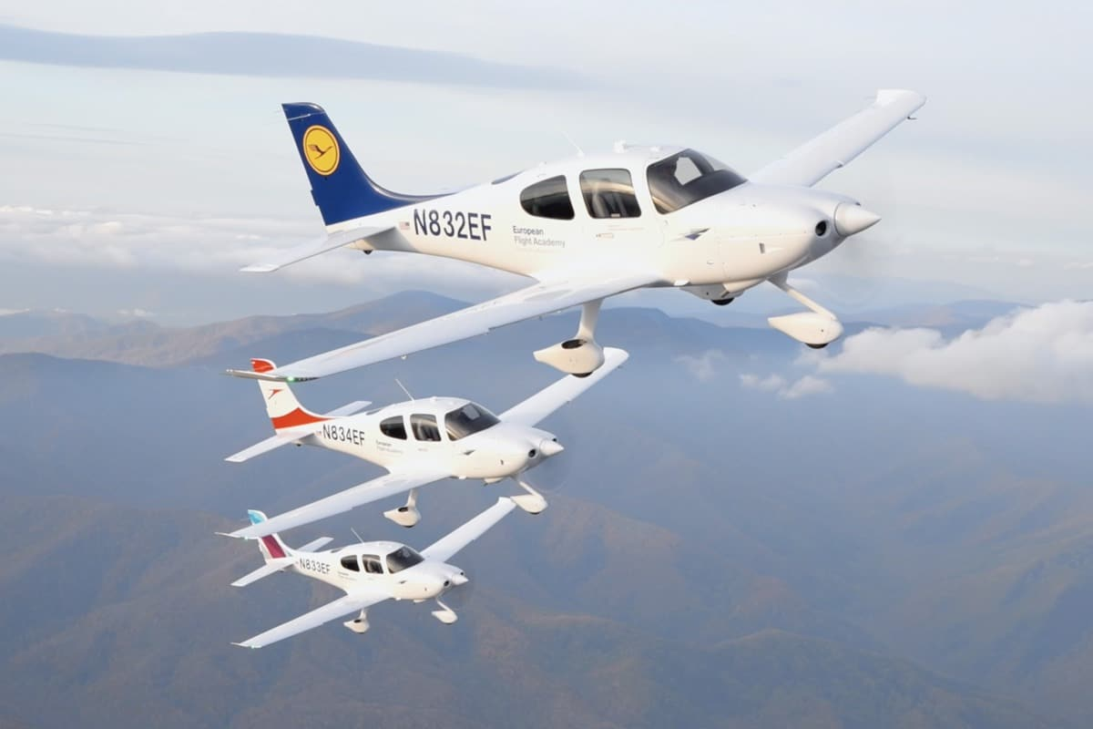 Flying Cirrus Aircraft to Train the Next Generation of Pilots
