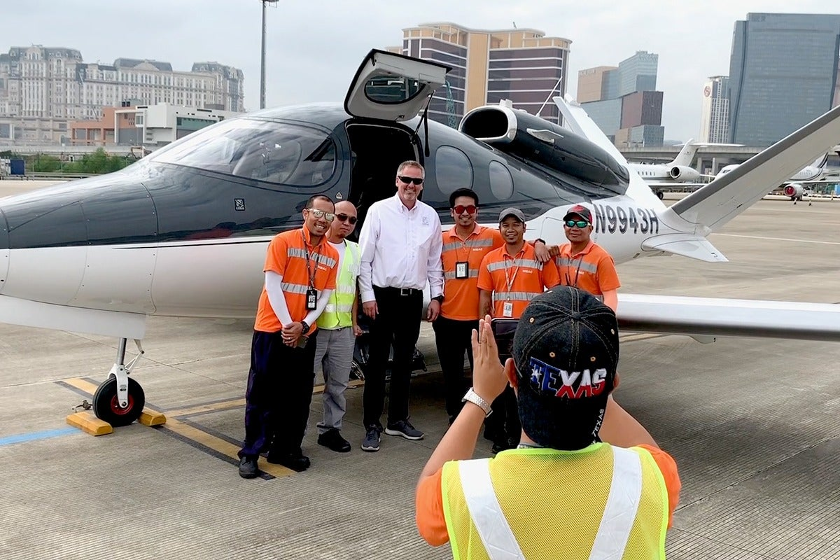 Around the World in a Vision Jet